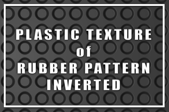 Plastic Texture Of Rubber Pattern