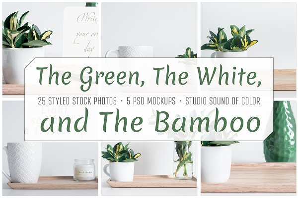 The Green, The White and The Bamboo