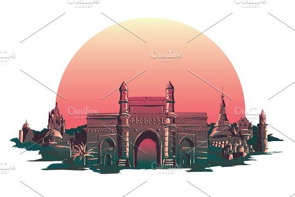BOMBAY City Illustration