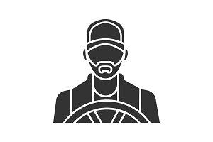 Driver glyph icon
