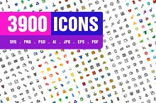 3900 Icons Pack