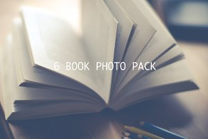 Open book photo pack