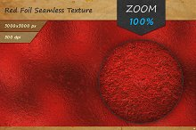 Red Foil Seamless HD Texture