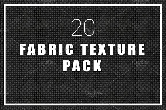 20 Fabric Textures Pack