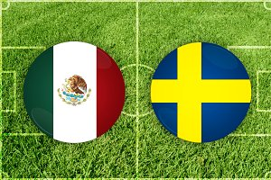 Mexico vs Sweden football match