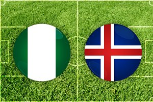 Nigeria vs Iceland football match