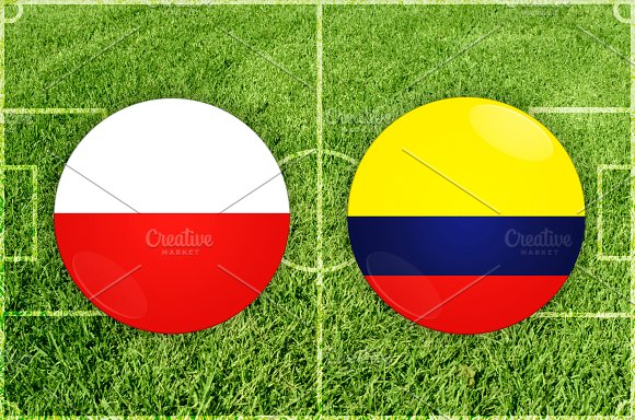 Poland Vs Colombia Football Match