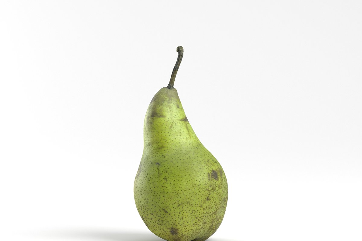 Photorealistic Pear