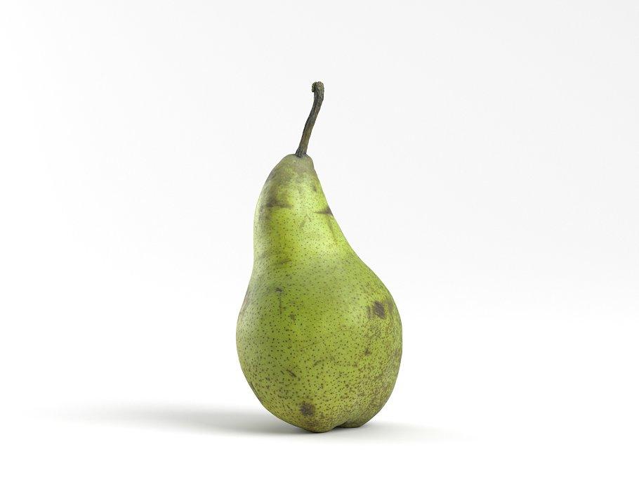 Photorealistic Pear