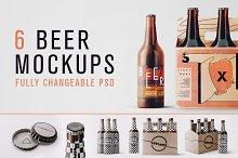 Changeable Beer Bundle Mockups