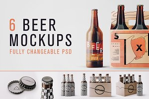 Changeable Beer Bundle Mockups