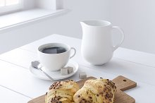 Decor Set Chocolate Croissant by  in Food