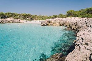 Talaier beach in Menorca, Spain