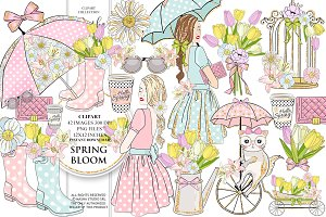 SPRING BLOOM clipart