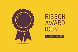Ribbon Award Icon