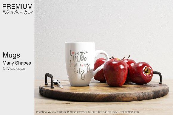 Mugs Many Shapes