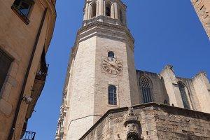 Girona town, Catalonia, Spain