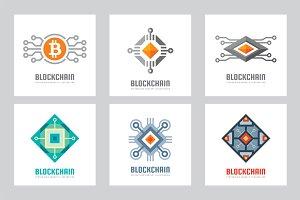Blockchain Cryptocurrency Logo