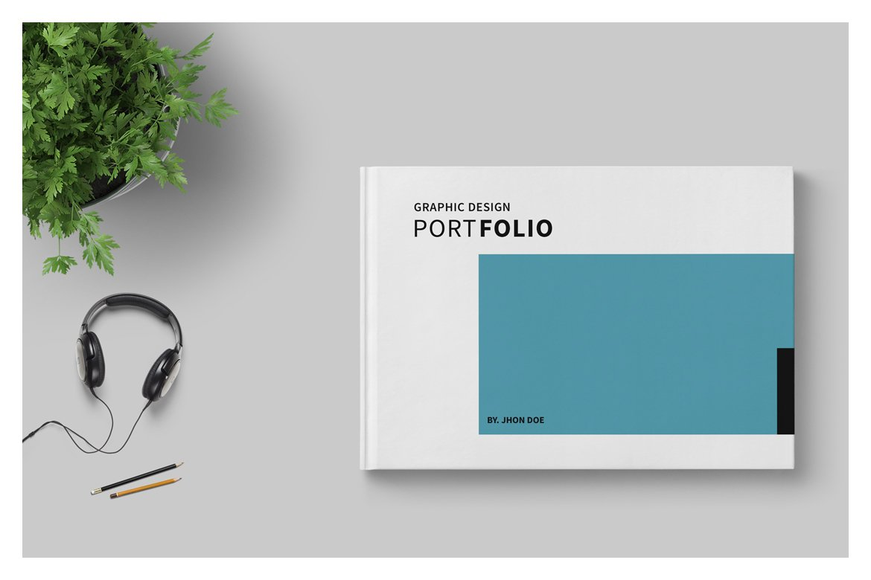 graphic design portfolio template brochure templates creative market