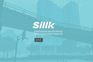 Sillk multipurpose html5 template