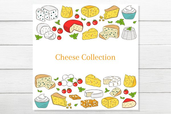 Cheese banner template