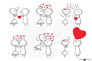 Stick Figure Love Stick People