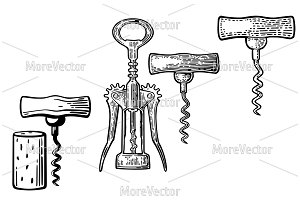 Wing and basic corkscrew, corck