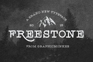 Freestone - Handmade Font