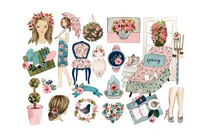 Spring clipart