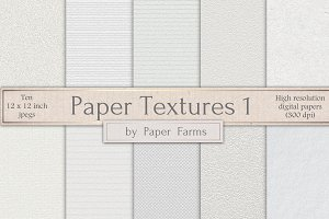 White paper textures 1