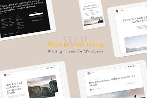Manka Personal Writing WP Theme