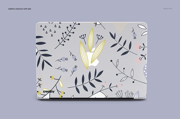 Macbook Clear Case Mockup Set in Product Mockups - product preview 5