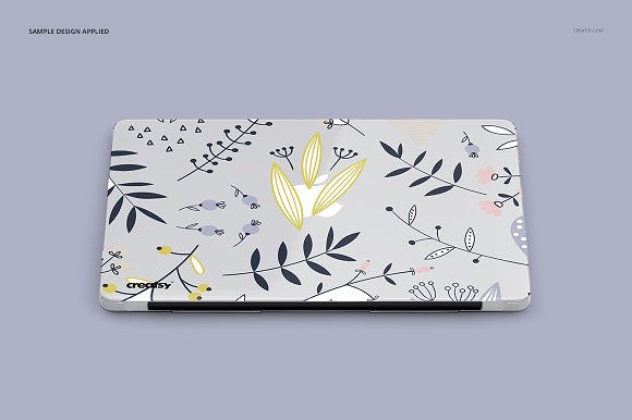 Macbook Clear Case Mockup Set in Product Mockups - product preview 6