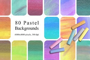 80 Pastel Backgrounds