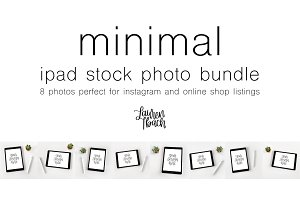 Minimal iPad Stock Photo Bundle