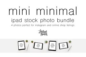 Mini Minimal Stock Photo Bundle