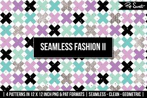 Seamless Fashion II 4 Pattern Set