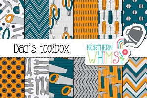 Fathers Day Toolbox Patterns
