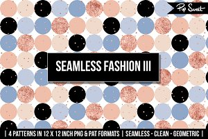 Seamless Fashion III 4 Pattern Set