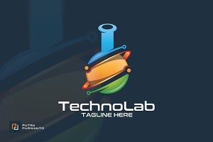 Techno Lab - Logo Template