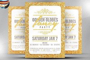 Golden Globe Fancy Flyer Template V2