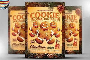 Cookie Decorating Party Flyer
