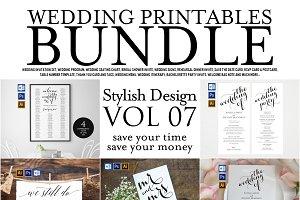 Wedding Printables Bundle Style. 7