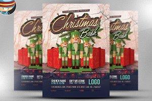 Christmas Bash Flyer Template 3
