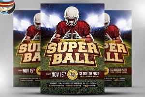 Super Ball Flyer Template v2
