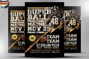 Super Ball Madness Flyer Template