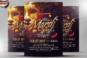 Shrove Tuesday Flyer Template