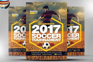 2017 Soccer Tournament Flyer