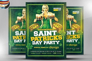 Saint Patrick Day Party Flyer