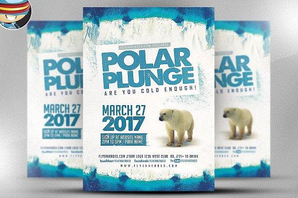 Polar Plunge Flyer Template